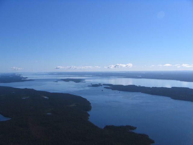 Le lac Mistassini le plus grand lac naturel du Québec (Canada)