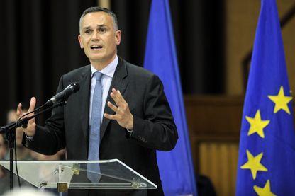 Arnaud Danjean lors d'un meeting à Montigny-lès-Metz en 2014