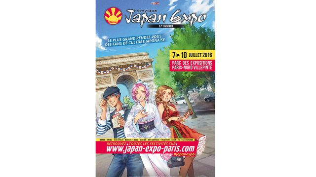 Affiche Japan Expo