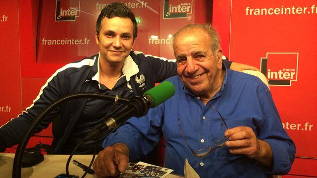 Ahmed Meguini et Roland Castro