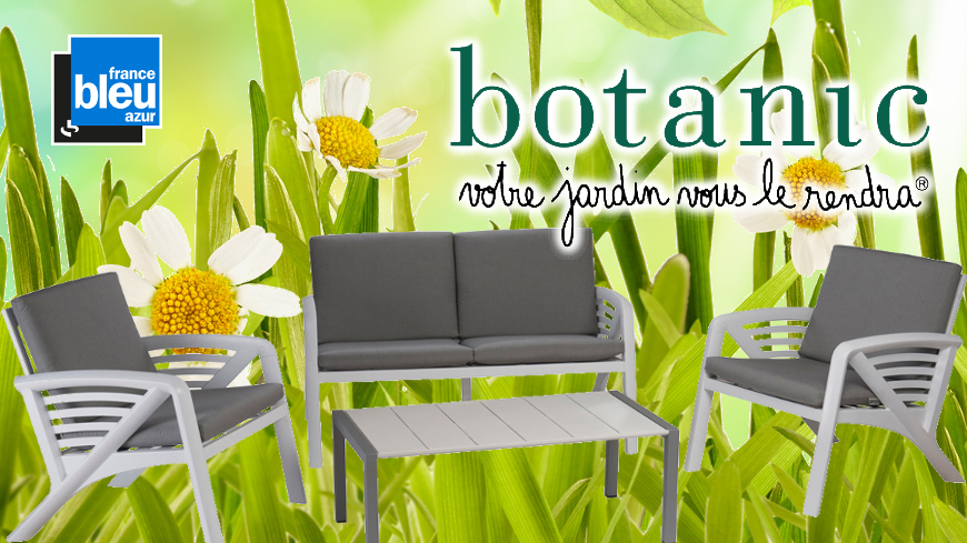 gagnez votre salon de jardin avec botanic. Black Bedroom Furniture Sets. Home Design Ideas