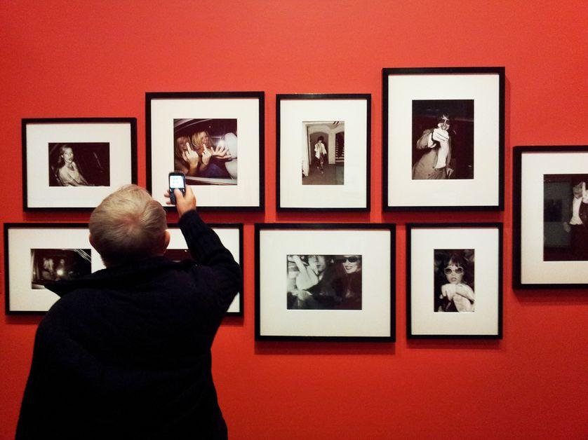"""Visite de l'exposition """"Paparazzi !"""", au Centre Georges Pompidou Metz"""