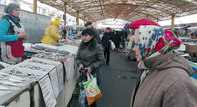 Le marché d'Odessa