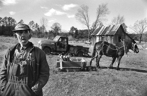 Rural crisis ,Dry Banch, Arkansas, 11 décembre1980