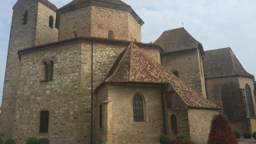 Abbatiale d'Ottmarsheim.
