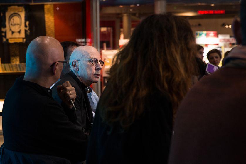 """Alain Prochiantz au Centre Pompidou pendant le week-end """"Imagine"""""""