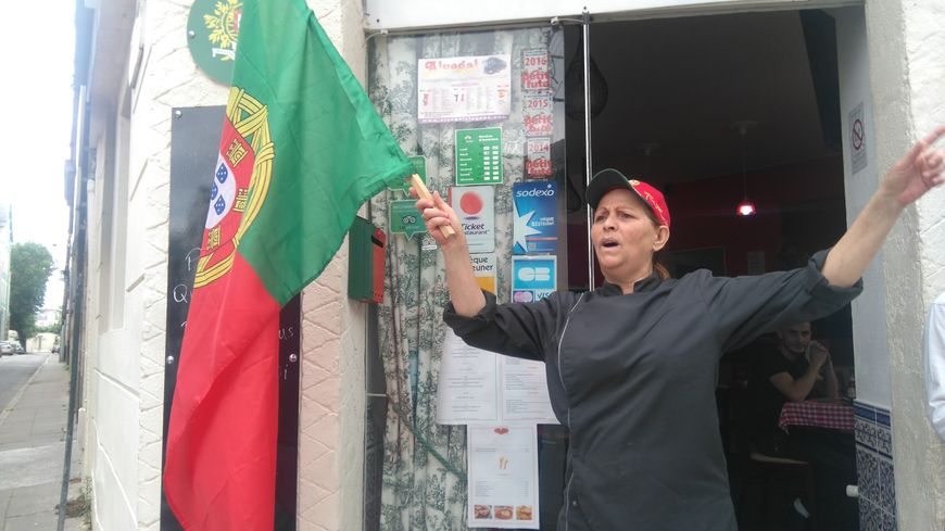 Marie-Isabelle Da Silva est la patronne du restaurant Casa Portugaise à Nantes