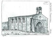 L'église de Saint-Georges-de-Didonne vers 1839