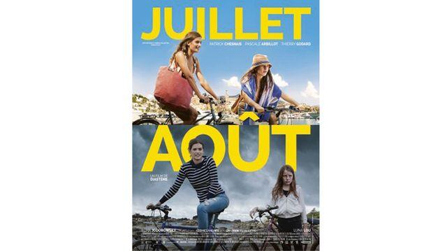 Affiche du film Juillet août