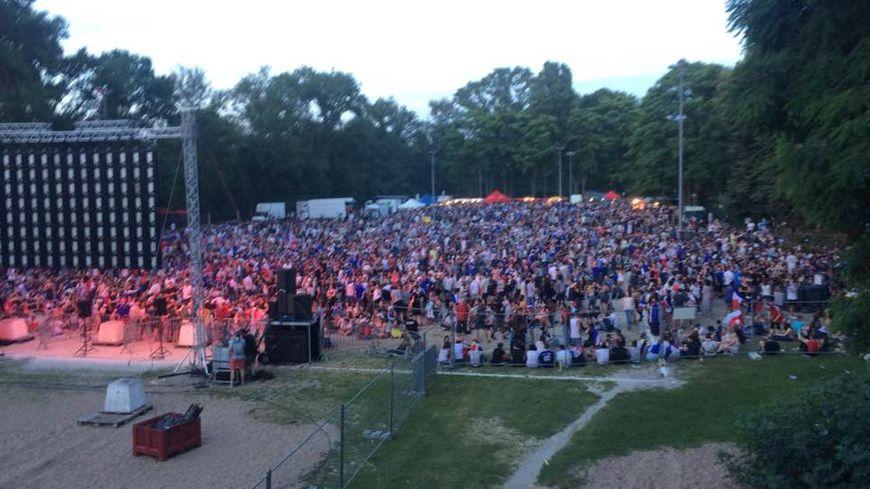 8.000 tourangeaux sur l'ile Aucard pour voir la finale de l'EURO 2016