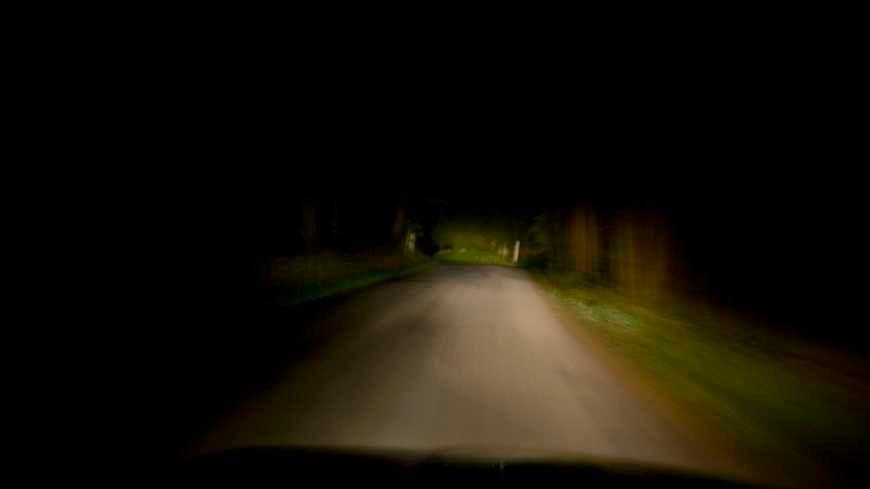 Une route en direction de Palavas