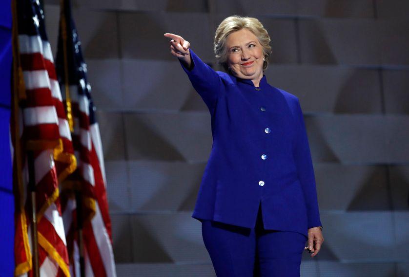 Hillary Clinton à la Convention des Démocrates à Philadelphie