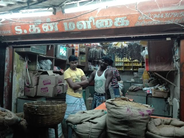Magasin à Pondichery