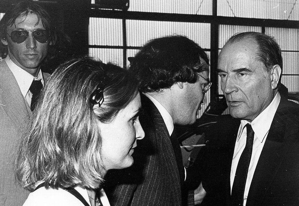 Confidence, avec François Mitterrand et Christian Pierret.