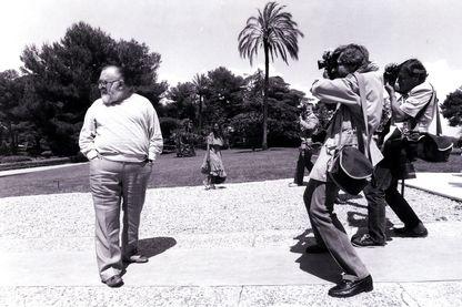 Sergio Leone au Festival de Cannes