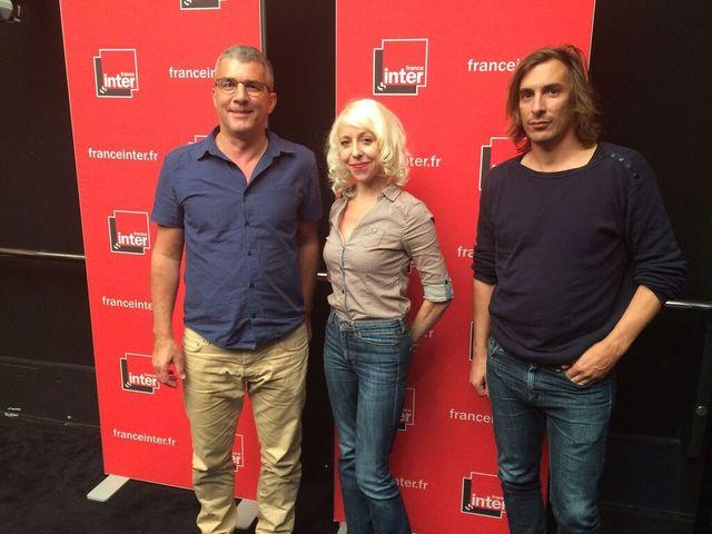 Alain Guiraudie, Céline Fuhrer et Thomas Scimeca