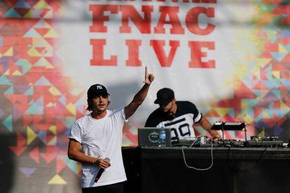 Le rappeur Nekfeu au Fnac Live 2015
