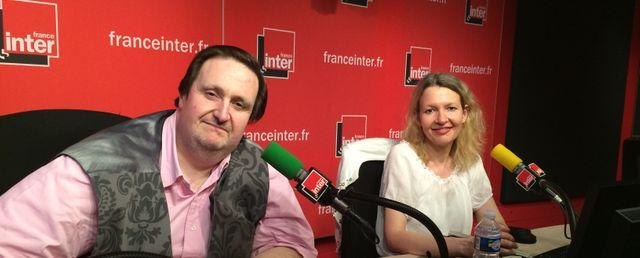 Philippe Conticini et Aline Perraudin