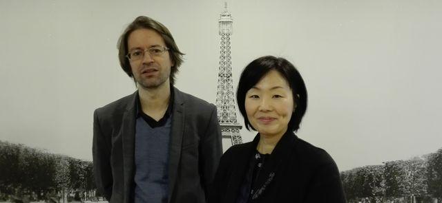 Alexandre Labruffe et Kim Mijin