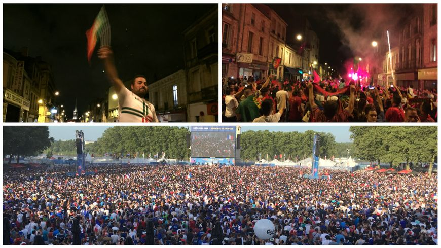 Les Portugais sacrés champions d'Europe aux dépens de la France et de ses supporters déçus.