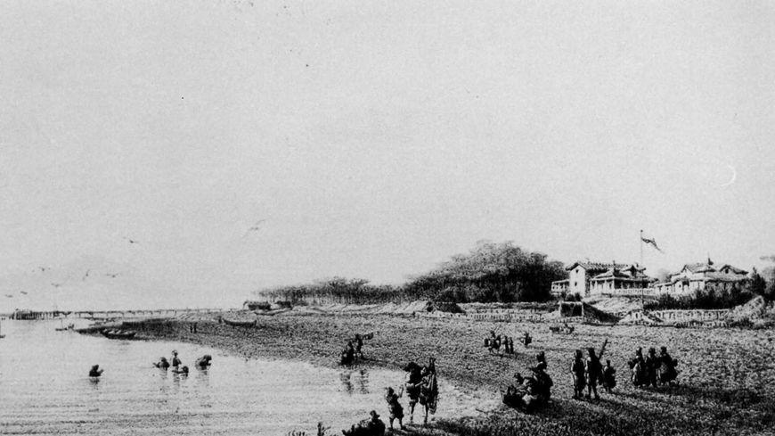 Vieille plage d'Arcachon
