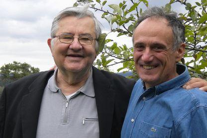 Jean-Marie Pelt et denis Cheissoux en 2010