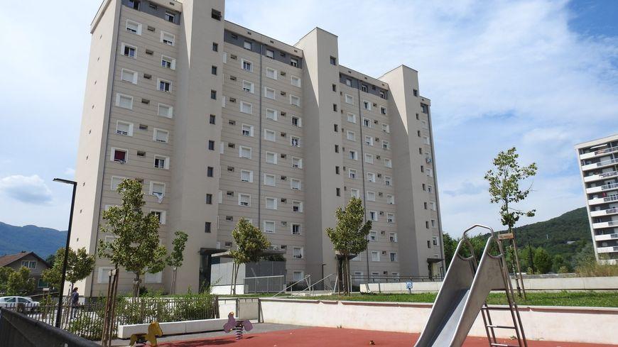 Le quartier Franklin Roosevelt à Aix-les-Bains. C'est ici que vivait Abdel Malik P..