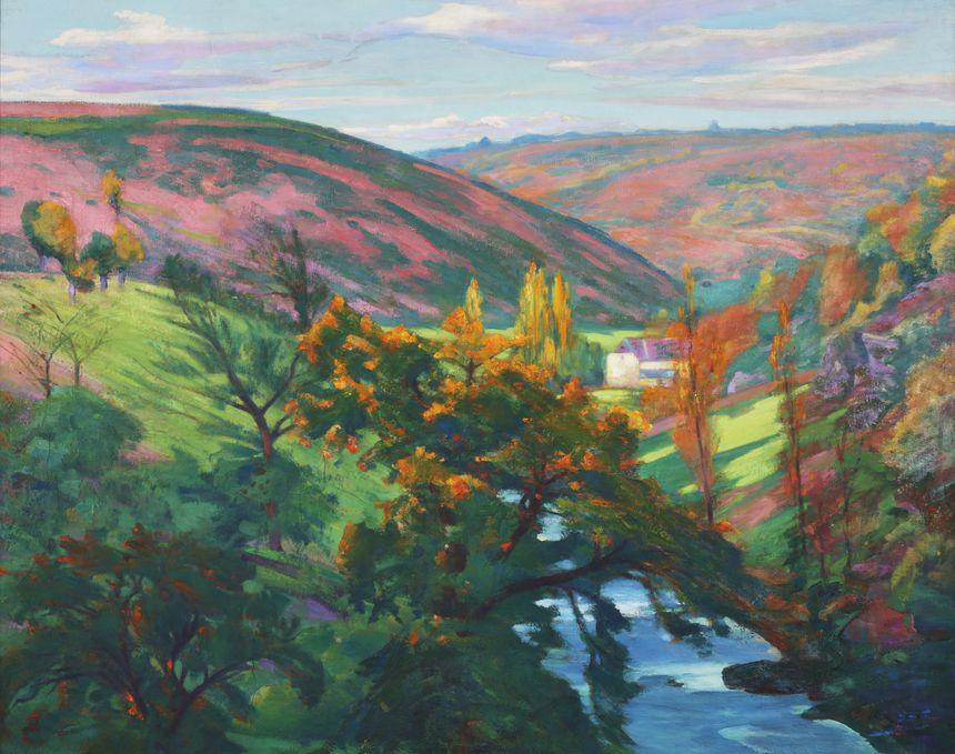 Smith, Vallée de la Sédelle en automne