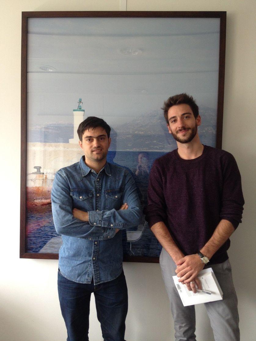 Sylvain Pattieu et Alexandre Jubelin