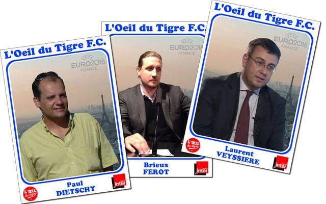 Paul Dietschy, Brieux Ferot et Laurent Veyssière