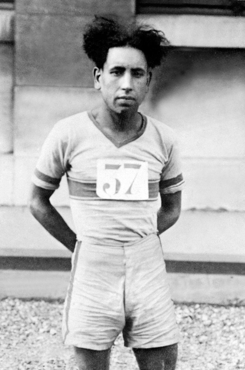 Boughéra El Ouafi en 1928
