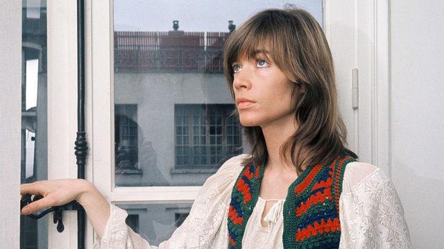 Françoise hardy chez elle, 1973