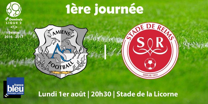 SC Amiens - Stade de Reims