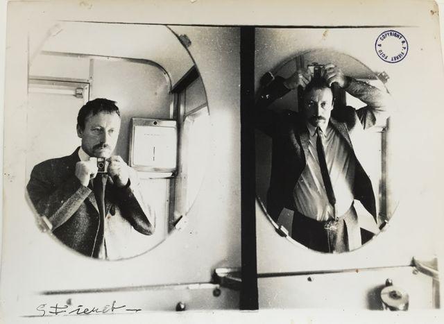 Autoportrait ® Gerard P. Fieret, c.1965-1975. Gemeentemuseum Den Haag