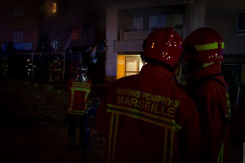 60 marins-pompiers ont été mobilisés pour éteindre le feu