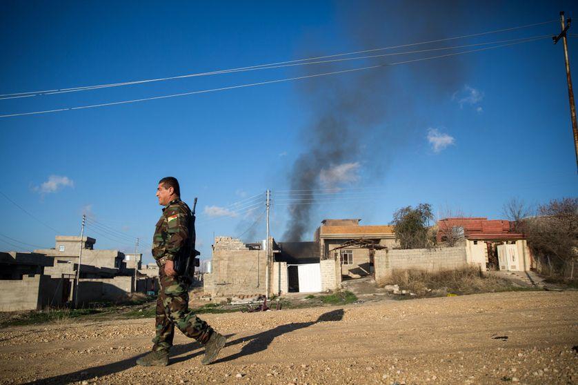 La ville de Sinjar, en Irak, reprise à Daech fin 2015.