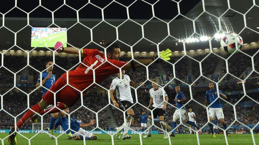 La Squadra Azzura s'incline aux tirs au but face à l'Allemagne