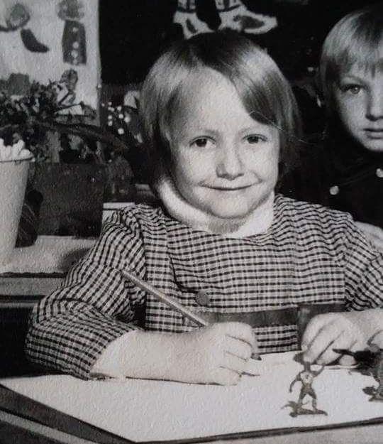 Diane à l'école maternelle de Barentin