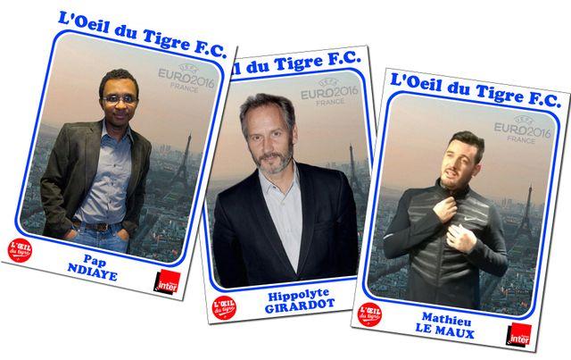Pap N'Diaye, Hippolyte Girardot et Mathieu Le Maux
