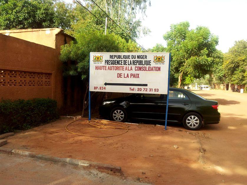 Haute autorité à la consolidation de la paix au Niger