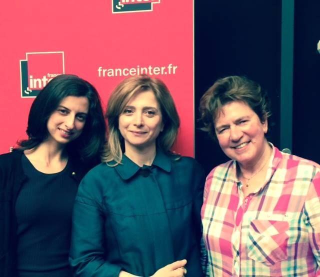 Laura El Makki, Samar Yazbek et Fatima Cherqaoui (interprète)