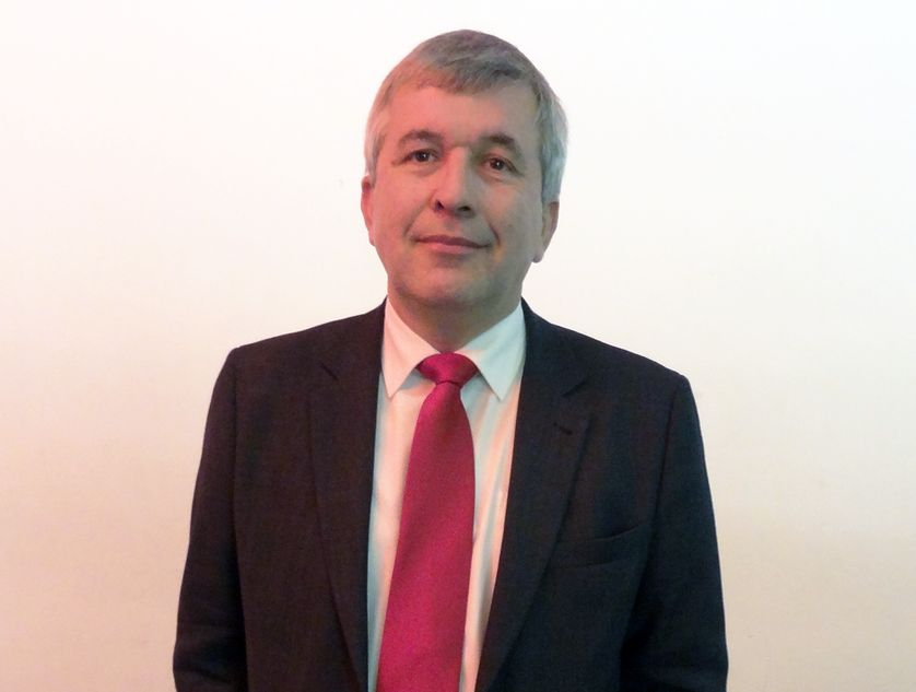 Jean-Luc Laurent, le président du MRC, le Mouvement républicain et citoyen