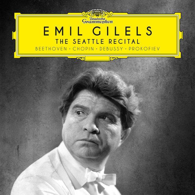 Pochette de The Seattle Recital d'Emil Gilels chez Deutsche Grammophon