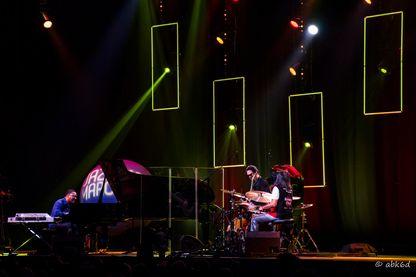 Volcan Trio au festival Jazz in Marciac (2016)