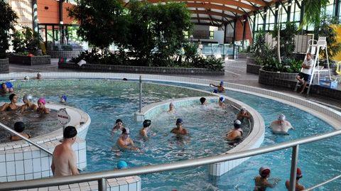 la piscine de la pépinière