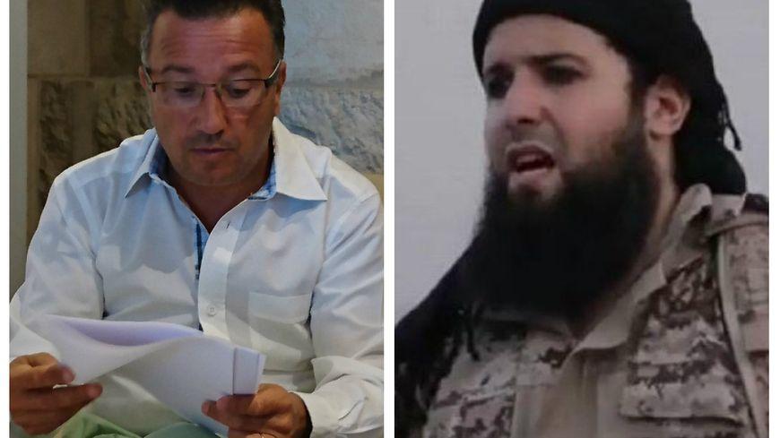 Le maire de Roanne a découvert le djihadiste d'origine roannaise Rachid Kassim dans une vidéo (capture d'écran) de Daesh.