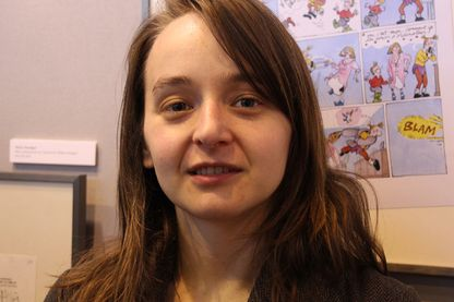 Marion Montaigne au Salon du livre en 2014