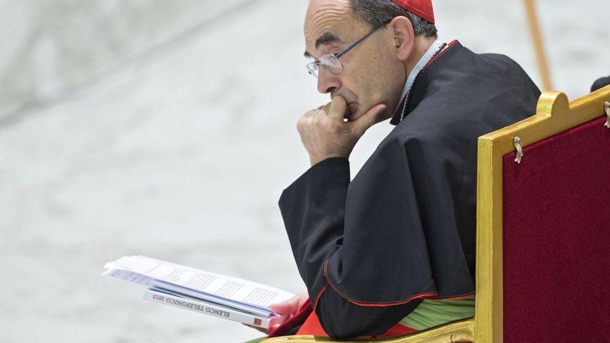 Philippe Barbarin est l'un des cardinaux français depuis 2003