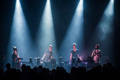 Chapelier fou en concert à La Maroquinerie à Paris le 9 décembre 2014
