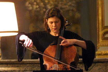 La violoncelliste Sonia Wieder-Atherton
